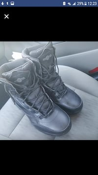 Black men's work boots size 11 Dale City, 22193