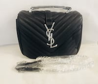 black leather Chanel crossbody bag Rockville, 20850