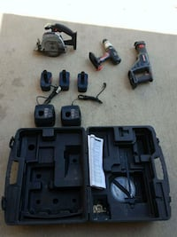 Craftsman - 19.2V Cordless Power Tool Set w/ case