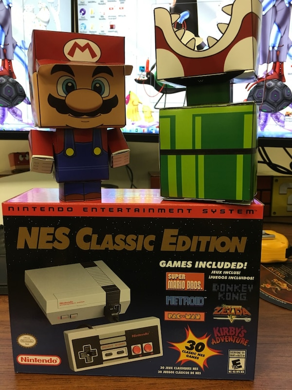 Used Nes Classic New In Box For Sale Letgo