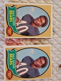 1970 Topps Gale Sayers Riverbank