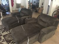 Two electric reclining chaise lounges  Henderson, 89011