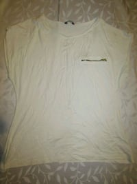 white v-neck shirt London