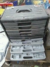 gray and black tool chest Middletown, 45042