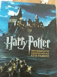 Harry Potter åle DVD  i box Asker