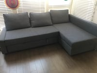 Gray 3-seater ikea couch  Mountain View, 94043