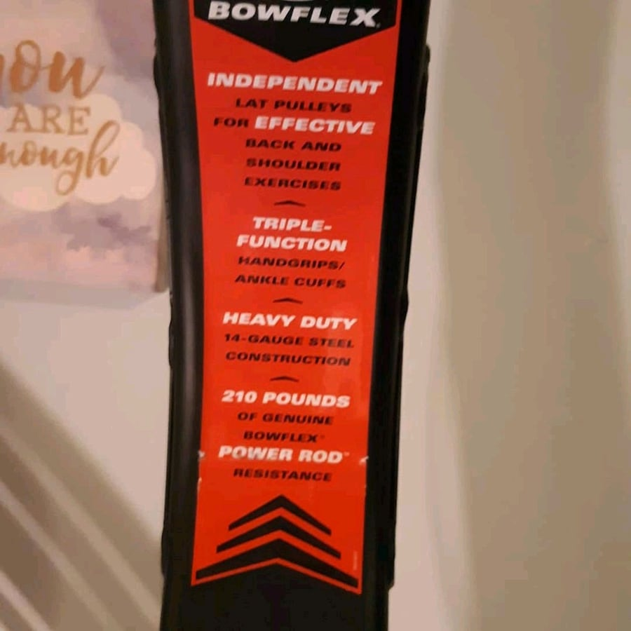 Bowflex barely ever used