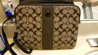 Brown Coach Tablet purse leather Vallejo, 94589