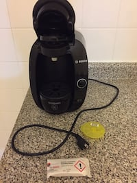 Tassimo coffee maker with cleaning tablets