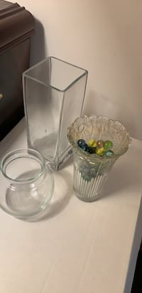 Clear glass jar with lid Edison, 08817