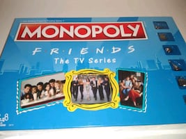 Monopoly Friends The TV show Edition NEW