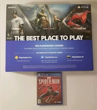 Brand new Ps4 1TB + spiderman videogame Chantilly, 20151