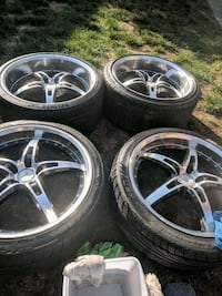 20inch rrm rims and tires Edmonton, T5G 0H6