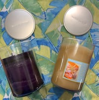 Yankee Candles - Autumn Fruit and Vacation Escape