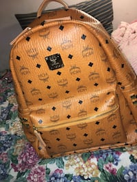 brown MCM leather monogram backpack Montréal, H4L 3P9