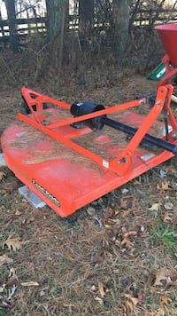 orange Land Pride mower deck Street, 21154