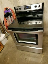 whirlpool glass cook top electric stove Fairfax, 22031