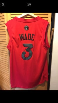 Wade Swingman Basketball Jersey Medium Coconut Creek, 33066