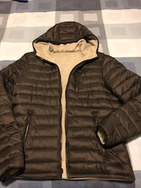 Moose Knuckles Cochrane Reversible Anorak Jacket, medium Toronto