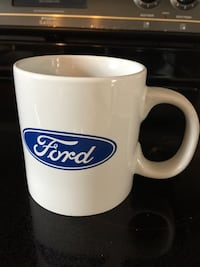 "NEW Xlarge COFFEE CUP ""FORD"" Wilkes Barre, 18705"
