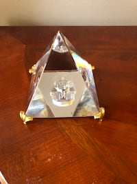 Crystal Egyptian pyramid  Lorton, 22079