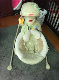 baby's white Fisher-Price cradle and swing Fort George G Meade, 20755