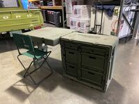 PELICAN HARDIGG PORTABLE MILITARY FIELD DESK USGI ARMY TABLE Charlotte, 28211
