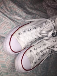 White high top converse  Pearland, 77584