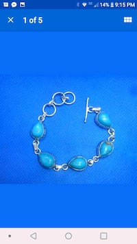 Sterling silver turquoise bracelet Tullahoma