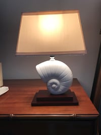 white and gray table lamp Fort Myers, 33908