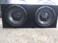 "2 12"" Kenwood subs with amp  San Fernando"