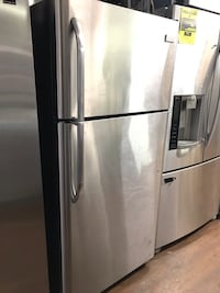 APT SIZE STAINLESS STEEL REFRIGERATOR