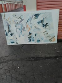 2 painting by local gas town artist Surrey