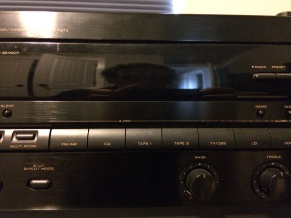 Marantz SR870 Audio Visual Stereo Receiver