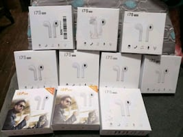WIRELESS ear buds. I have 6 left.some have chargers some dont..