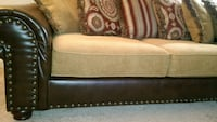 "Priced to sell - Must go - New couch ""L-shape"" with large chaise - $345 0 Mobile"