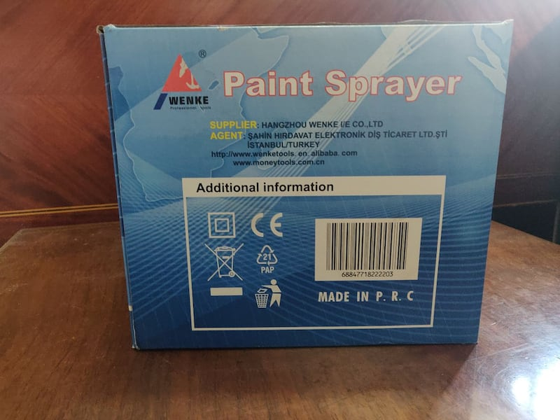 WENKE PAİNT SPRAY  16a9ee25-1867-4134-bf35-1d0753616a39