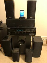 Onyko 7.1 surround with iPod touch