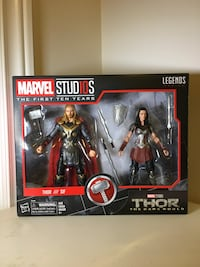 Thor & Sif (Marvel The First 10 Years Legends Series) Toronto, M5A 1N8