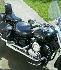black and gray touring motorcycle Salisbury