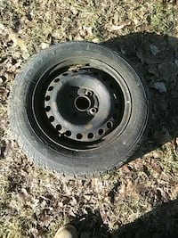 black bullet hole vehicle wheel and tire Poultney, 05764