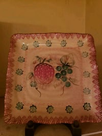 pink and green floral textile New York, 10314