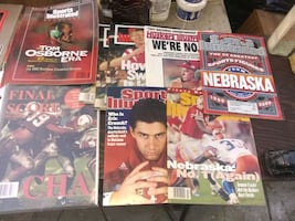 a lot of collector Nebraska magazines