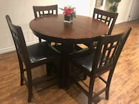 Barhight dinning table × 4 chairs Newmarket, L3Y 9E3