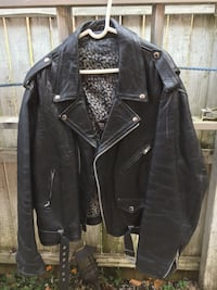 Motorcycle leather jacket  47 km