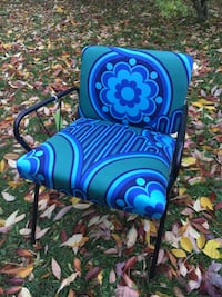 Midcentury vintage chair Peter Hall fabric 60s Volution Grimsby, L3M 2A9