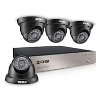 4 Full HD-TVI DVR InfraRed Outdoor Security Camera System - NEW MONTREAL