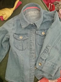 blue Genuine Kids denim jacket Columbus, 31904