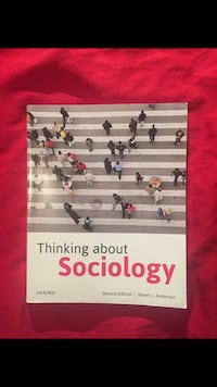 New sociology textbook Toronto, M5A 2E2