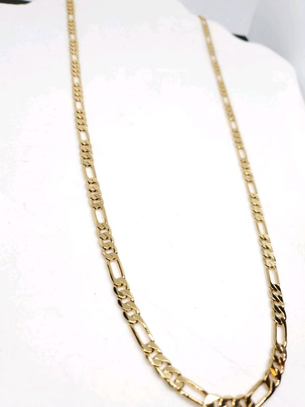 14k Gold Filled Figaro Link Chain fc54550c-ae95-45ce-beeb-91bd16806182